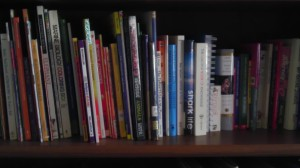 These are mostly life science books along with our field guide collection.
