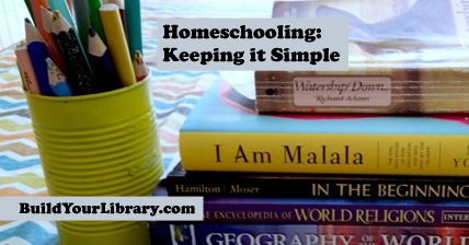 Homeschooling: Keeping it Simple