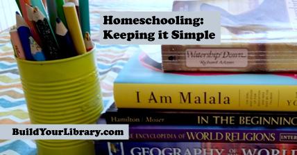 Homeschooling: Keeping it Simple