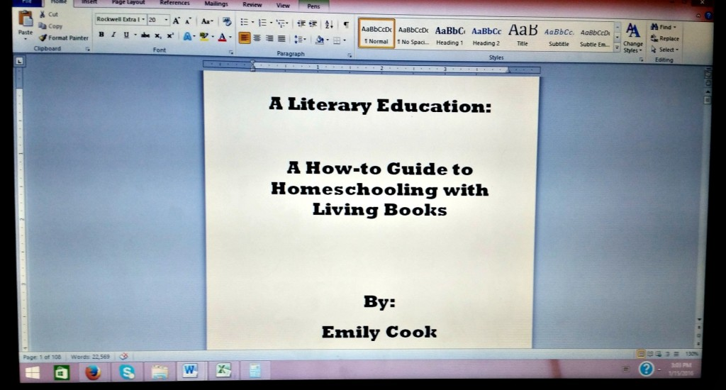 Literary Education draft