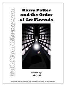 Unit Study: Harry Potter and the Order of the Phoenix