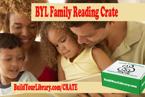 BYL Family Reading Crate