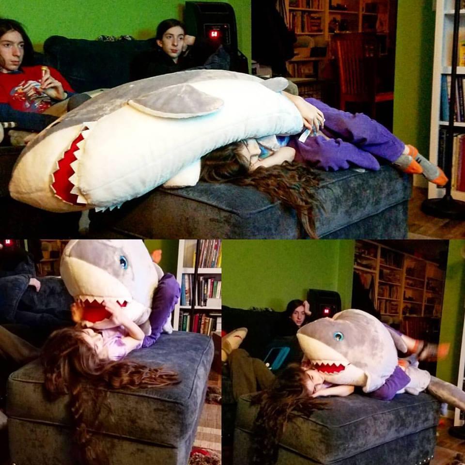 Reginas Giant Shark